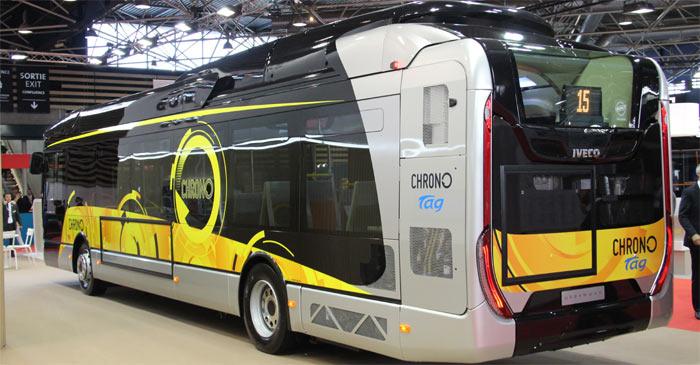 TRANS'BUS - Autobus standard : Iveco Bus Urbanway 12