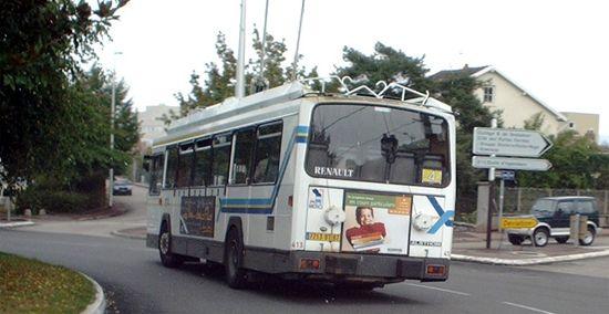 Trans 39 bus v hicule trolleybus er 100 per 180 - Ligne bus limoges ...