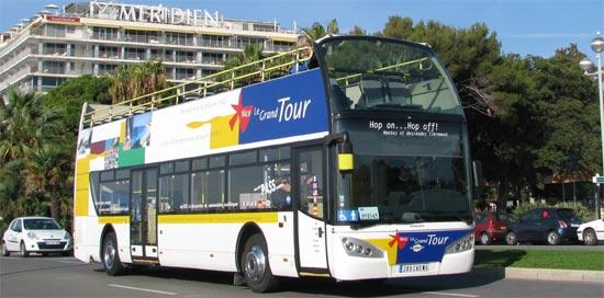 """Двухэтажный туристический автобус по Марселю - Туристический автобус """"Le Grand Tour"""" по Марселю - экскурсии по Марселю, двухэтажный туристический автобус. Путеводитель по Марселю, город Марсель, Франция"""