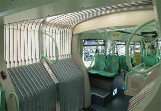 Trans 39 bus dossier am nagement int rieur des autobus for Metro interieur