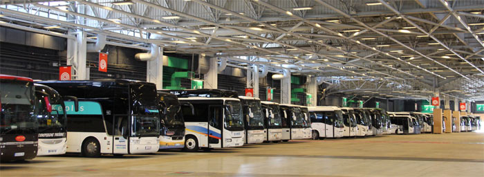 Trans 39 bus dossier parkings autocars for Porte de champerret salon parking
