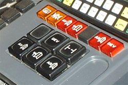Que faire pour quont disparu les boutons sur la personne