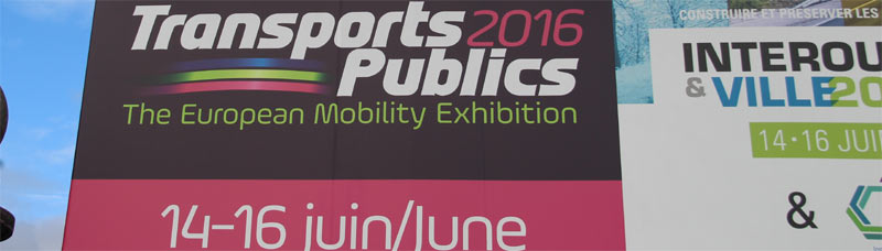 Transports Publics 2016 à Paris