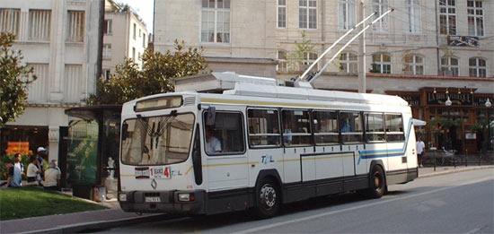 Trans 39 bus dossier les trolleybus - Bus lyon nancy ...