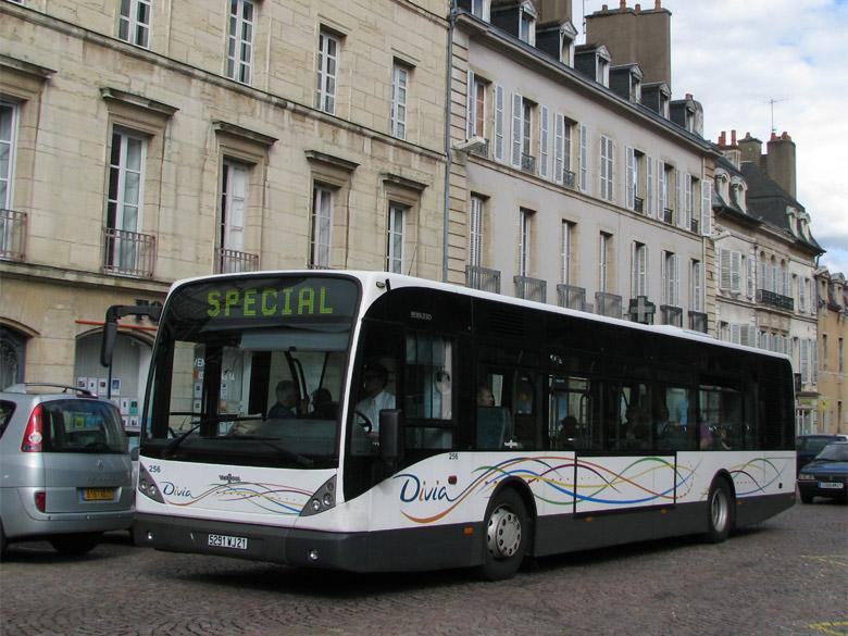 trans 39 bus phototh que autobus van hool new a 330 divia dijon. Black Bedroom Furniture Sets. Home Design Ideas