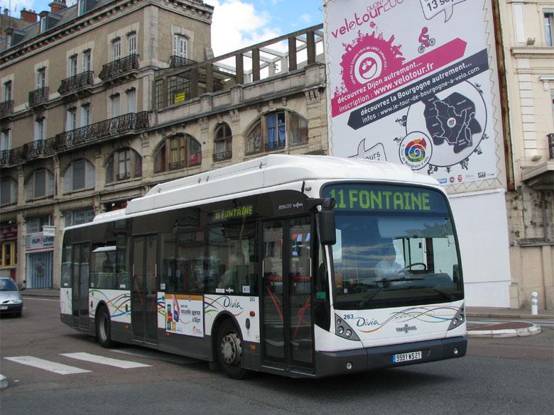 trans 39 bus phototh que autobus van hool new a 330 cng divia dijon. Black Bedroom Furniture Sets. Home Design Ideas