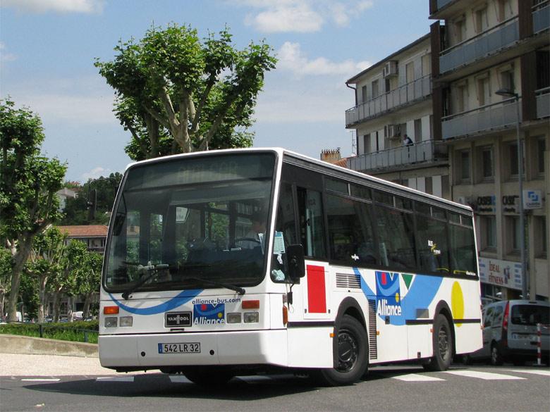 trans 39 bus phototh que autobus vanhool a 508 alliance auch. Black Bedroom Furniture Sets. Home Design Ideas