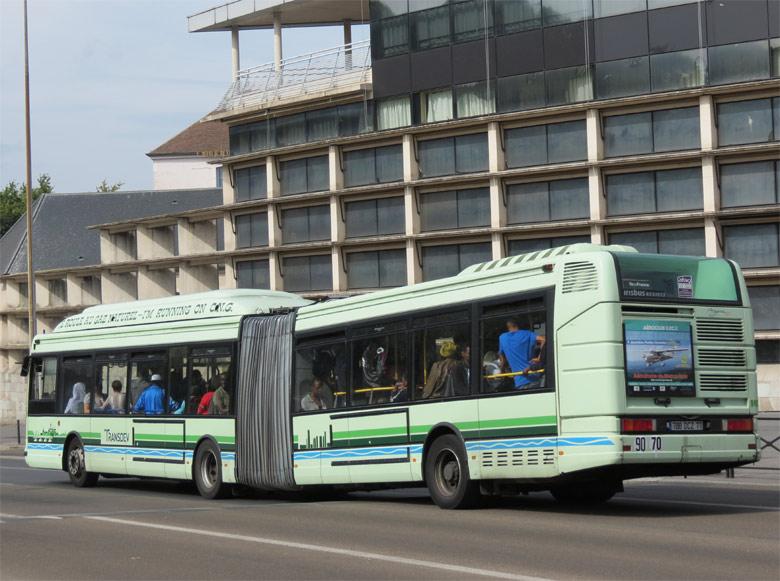 Trans 39 Bus Phototh Que Autobus Irisbus Agora L Gnv