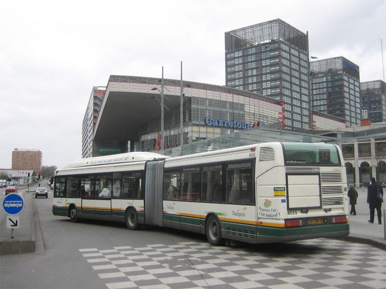 trans 39 bus phototh que autobus irisbus agora l gnv transpole lille. Black Bedroom Furniture Sets. Home Design Ideas