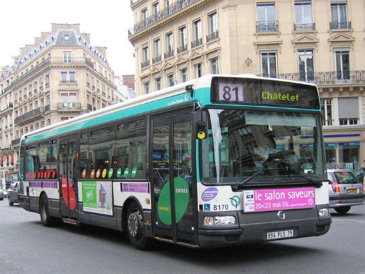 IRISBUS AGORA Line - RATP - Paris