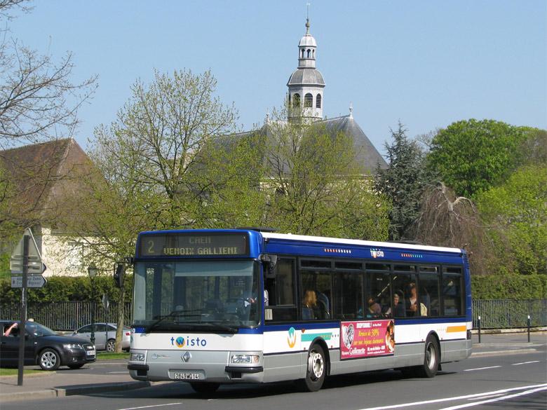 TRANSBUS - Photothèque autobus : RENAULT AGORA S - TWISTO - Caen
