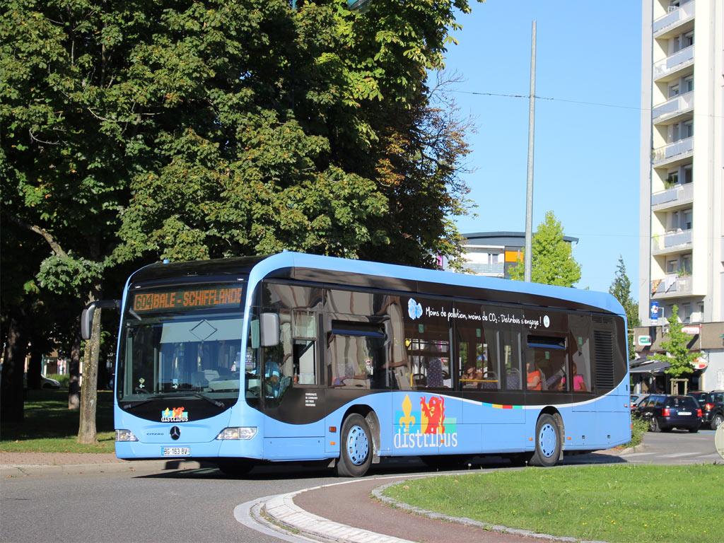 Mercedes St Louis >> TRANS'BUS - Photothèque autobus : MERCEDES CITARO - Distribus - Saint-Louis