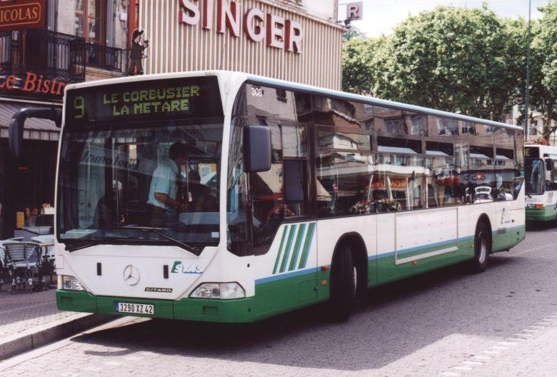 Trans 39 bus phototh que autobus mercedes citaro stas st etienne - Garage mercedes saint etienne ...