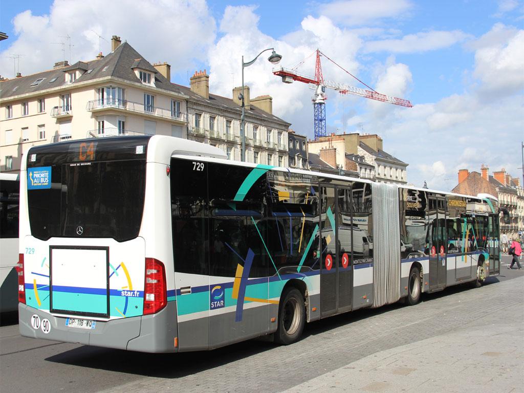 trans 39 bus phototh que autobus mercedes citaro c2 g star rennes. Black Bedroom Furniture Sets. Home Design Ideas