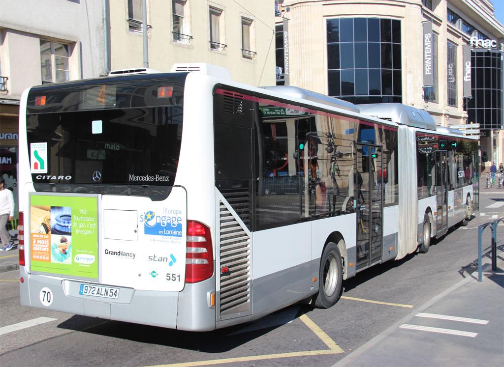 TRANS'BUS - Photothèque autobus : MERCEDES CITARO G GNV