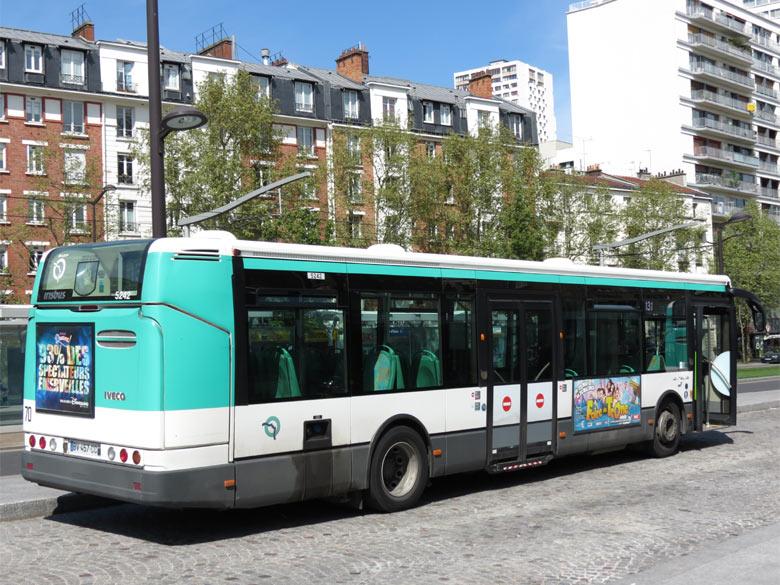 trans 39 bus phototh que autobus irisbus citelis ratp paris. Black Bedroom Furniture Sets. Home Design Ideas