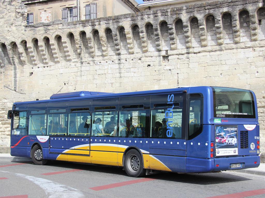 Trans 39 bus phototh que autobus irisbus citelis line - Ligne bus avignon ...