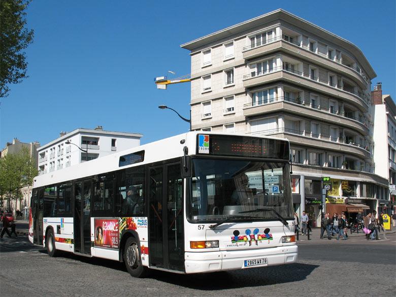 HEULIEZ GX 317 - Bus Océane - Le Havre