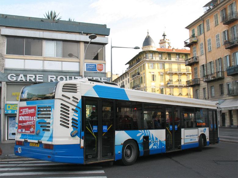 trans 39 bus phototh que autobus heuliez gx 317 ligne d 39 azur nice. Black Bedroom Furniture Sets. Home Design Ideas