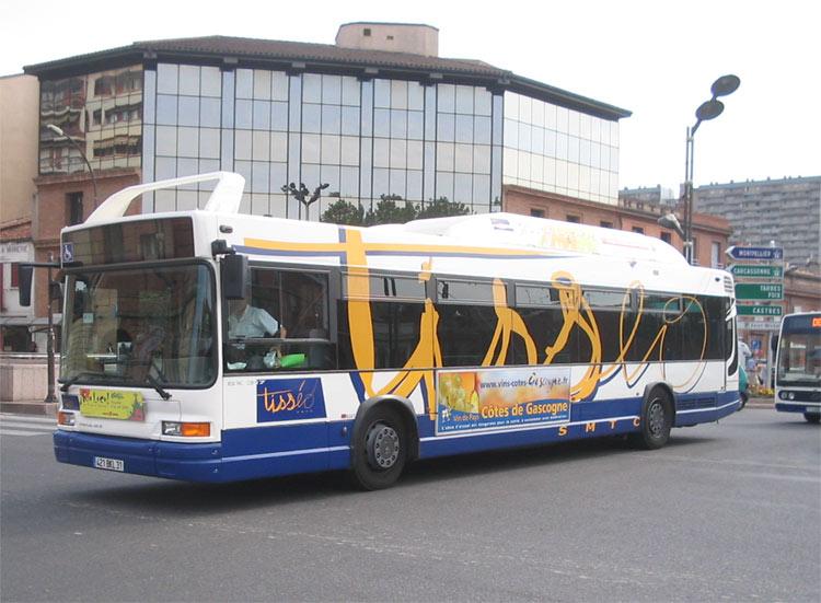 TRANS'BUS - Photothèque autobus : HEULIEZ GX 317 GNV - Tisséo ...