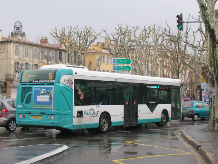 trans 39 bus phototh que autobus heuliez gx 327 aix en