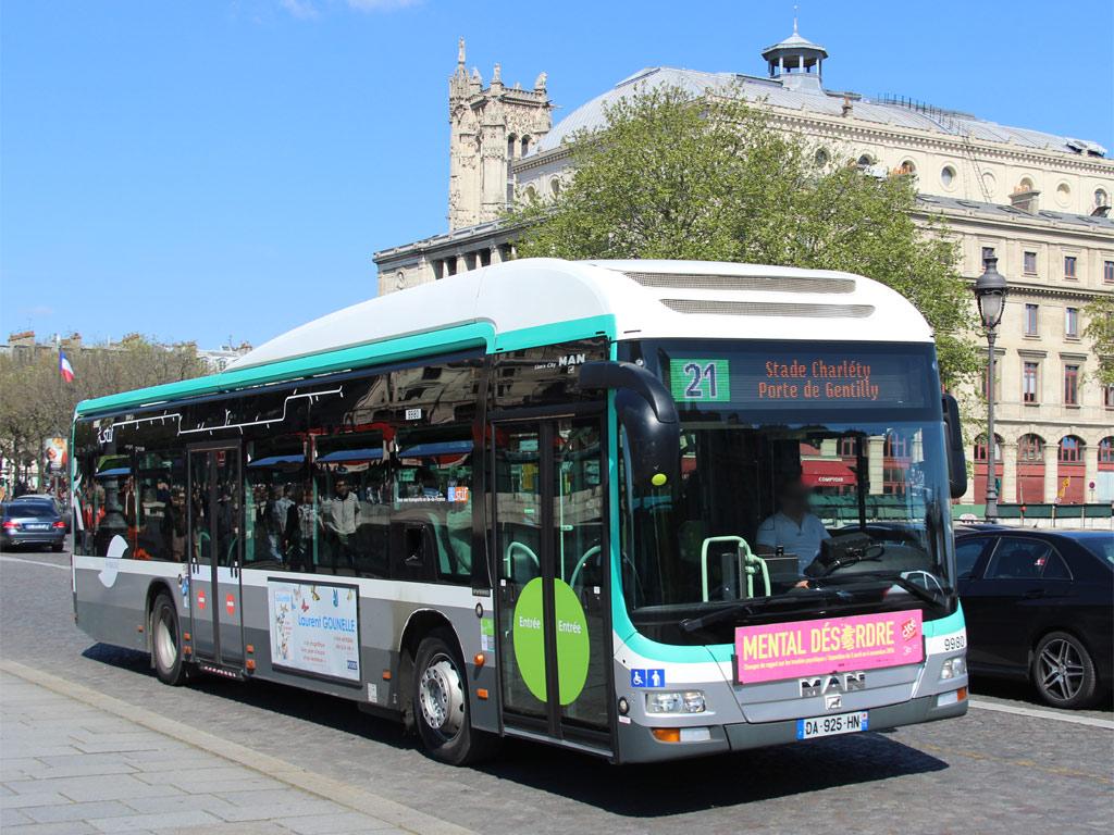 trans 39 bus phototh que autobus man lion 39 s city hybrid ratp 21. Black Bedroom Furniture Sets. Home Design Ideas