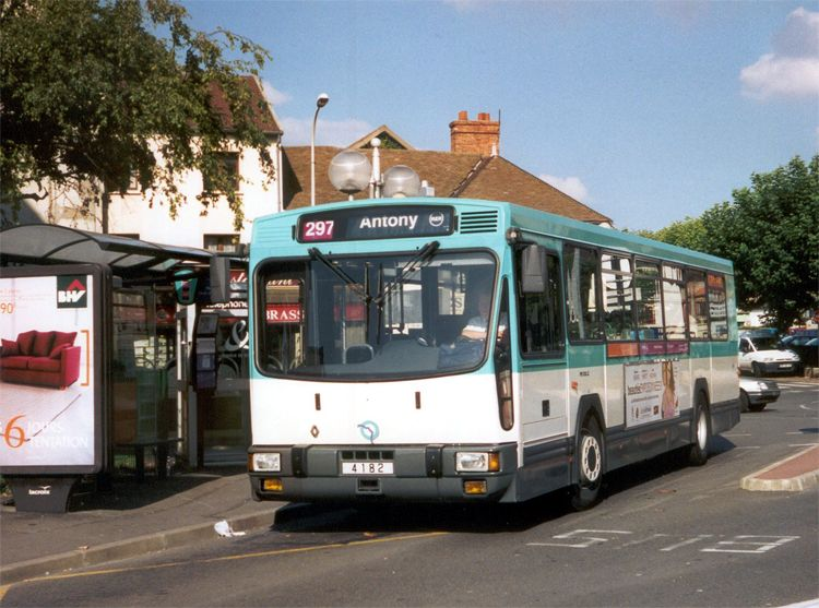 trans 39 bus phototh que autobus renault pr 100 2 ratp paris. Black Bedroom Furniture Sets. Home Design Ideas