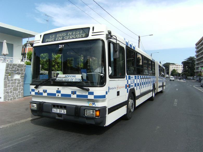 Trans Bus Phototh 232 Que Autobus Renault Pr 118 Tam