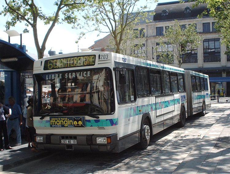 trans 39 bus phototh que autobus renault pr 180 2 tcat troyes. Black Bedroom Furniture Sets. Home Design Ideas