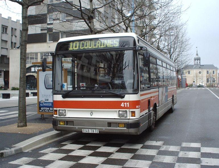 trans 39 bus phototh que autobus renault r 312 setram le mans. Black Bedroom Furniture Sets. Home Design Ideas