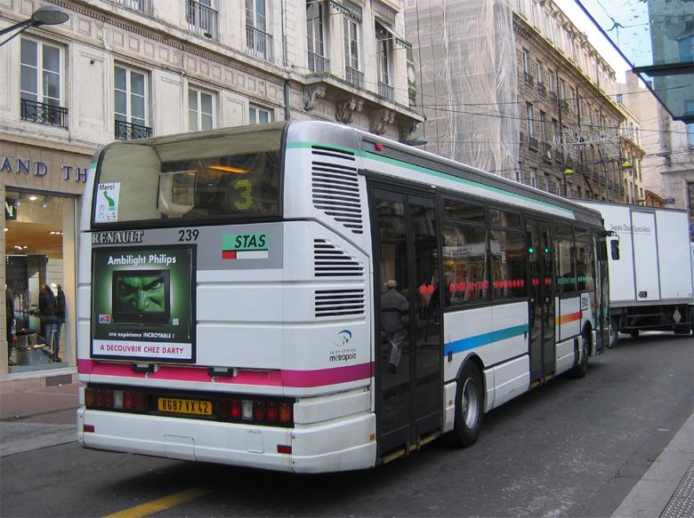 trans 39 bus phototh que autobus renault r 312 stas st etienne. Black Bedroom Furniture Sets. Home Design Ideas