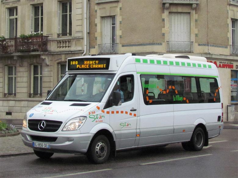 TRANS'BUS - Photothèque autobus : MERCEDES Sprinter City