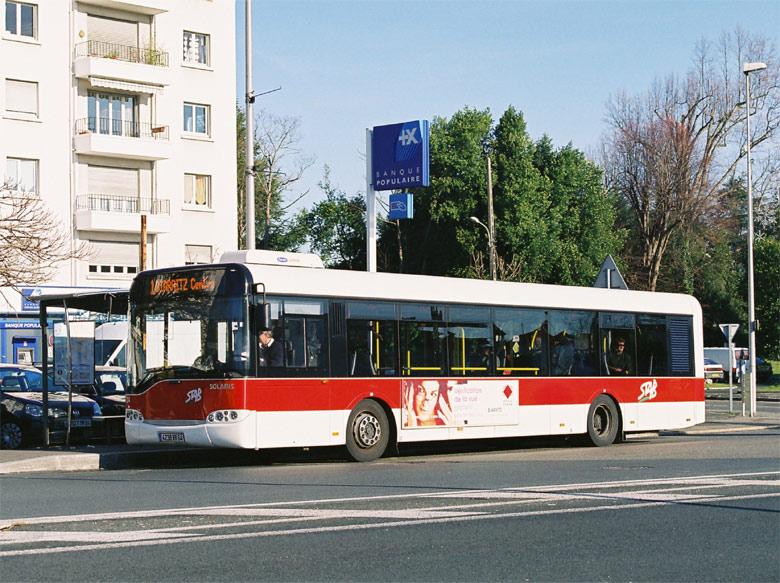 trans 39 bus phototh que autobus solaris urbino 12 bayonne. Black Bedroom Furniture Sets. Home Design Ideas