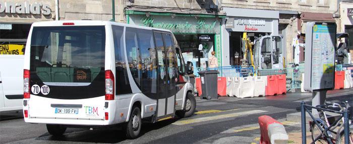 trans 39 bus actualit s navette travaux tramway d bordeaux. Black Bedroom Furniture Sets. Home Design Ideas