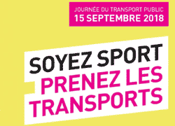 15 septembre : Journée du transport public 2018