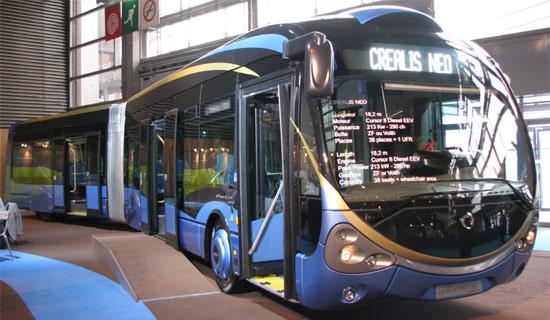 trans 39 bus autobus articul irisbus crealis 18. Black Bedroom Furniture Sets. Home Design Ideas
