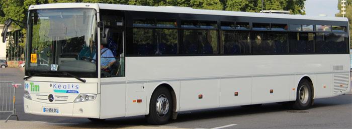 trans 39 bus autocar standard mercedes intouro. Black Bedroom Furniture Sets. Home Design Ideas