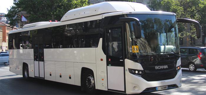 Trans 39 bus autocar standard scania interlink ld cng - Dessiner un bus ...
