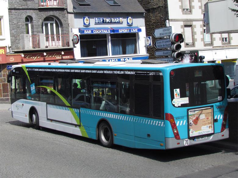 trans 39 bus phototh que autobus vanhool new a330 saint brieuc. Black Bedroom Furniture Sets. Home Design Ideas