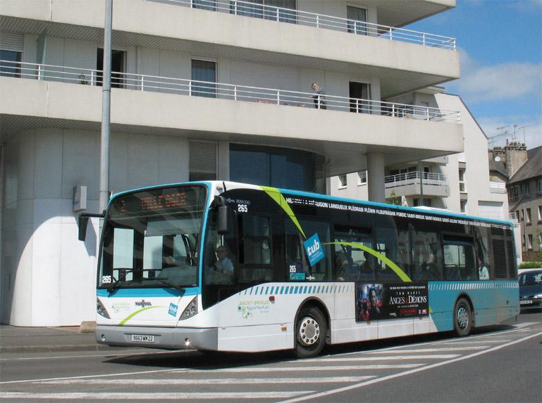 trans 39 bus phototh que autobus vanhool new a 330 tub st brieuc. Black Bedroom Furniture Sets. Home Design Ideas