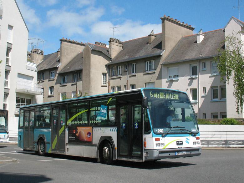 trans 39 bus phototh que autobus van hool a 500 tub st brieuc. Black Bedroom Furniture Sets. Home Design Ideas