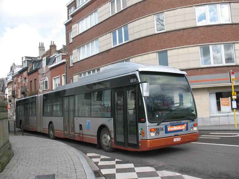 trans 39 bus phototh que autobus vanhool ag 300 stib bruxelles. Black Bedroom Furniture Sets. Home Design Ideas