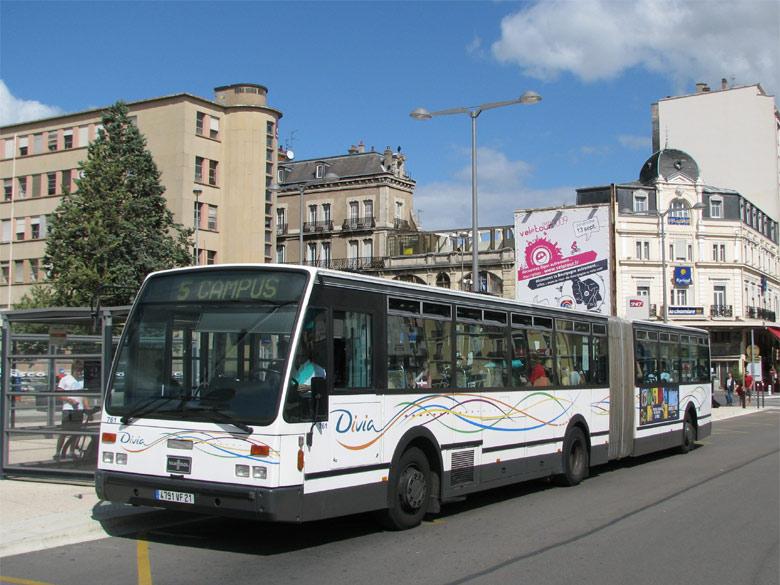 trans 39 bus phototh que autobus vanhool ag 700 divia dijon. Black Bedroom Furniture Sets. Home Design Ideas