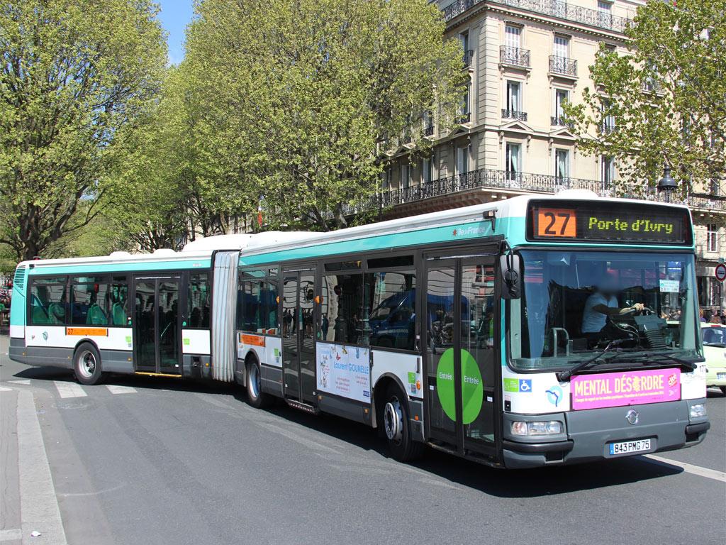 trans 39 bus phototh que autobus irisbus agora l ratp 27 paris. Black Bedroom Furniture Sets. Home Design Ideas