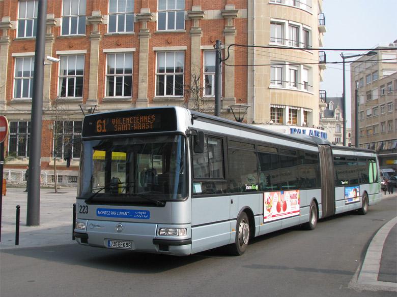 trans 39 bus phototh que autobus irisbus agora l transvilles valenciennes. Black Bedroom Furniture Sets. Home Design Ideas
