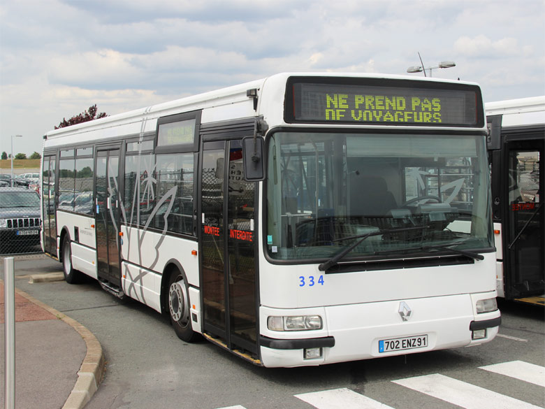 trans 39 bus phototh que autobus renault agora s intrabus orly adp. Black Bedroom Furniture Sets. Home Design Ideas