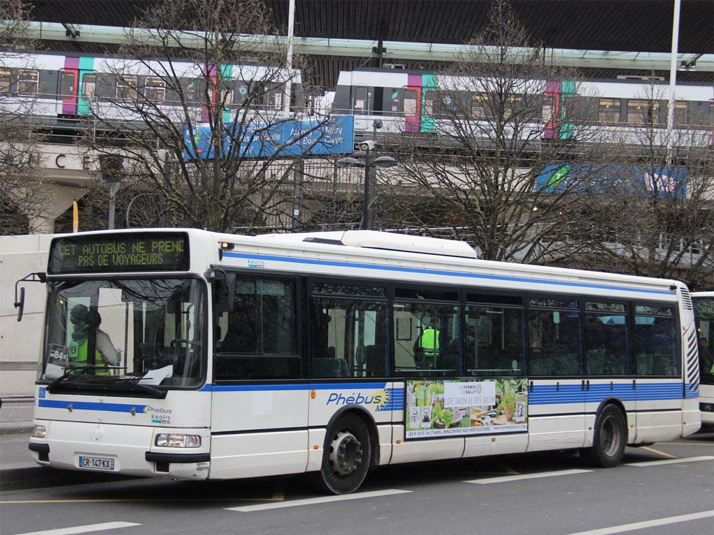 trans 39 bus phototh que autobus renault agora s keolis versailles. Black Bedroom Furniture Sets. Home Design Ideas