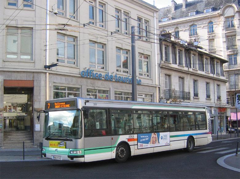 trans 39 bus phototh que autobus irisbus agora s stas. Black Bedroom Furniture Sets. Home Design Ideas