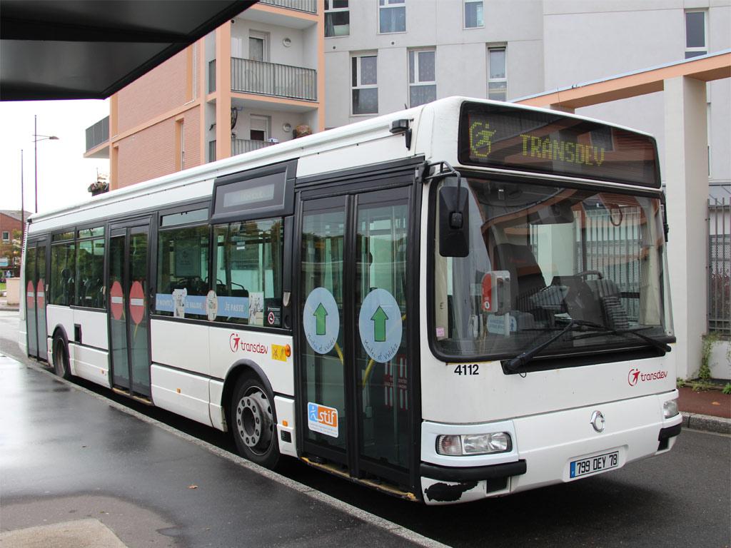 Trans 39 Bus Phototh Que Autobus Irisbus Agora S