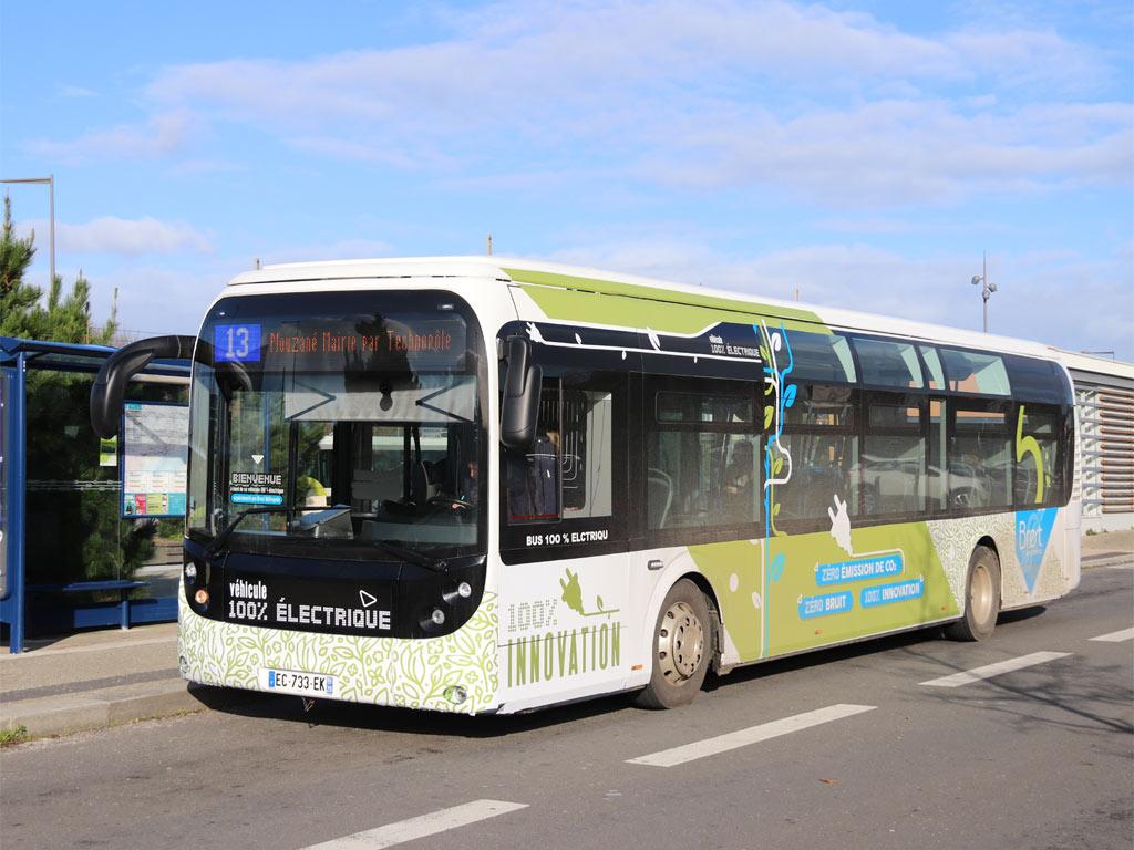 trans 39 bus phototh que autobus bus lectrique bluebus 12 brest. Black Bedroom Furniture Sets. Home Design Ideas
